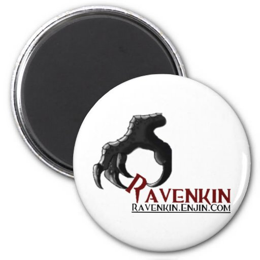 The Ravenkin Claw Collection 2 Inch Round Magnet