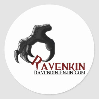 The Ravenkin Claw Collection Classic Round Sticker