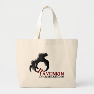 The Ravenkin Claw Collection Large Tote Bag