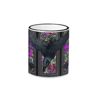 The Ravens Gothic Digital Art Mugs