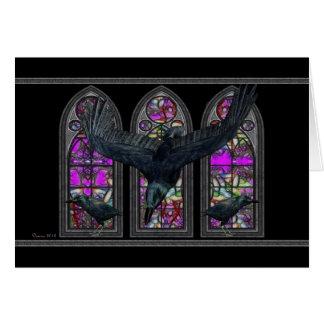 The Ravens Gothic Happy Birthday Greeting Card