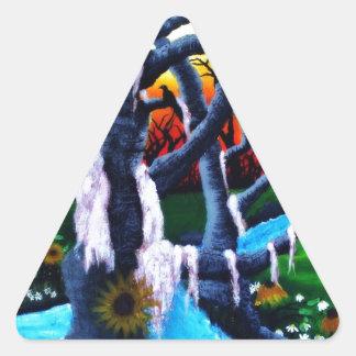 The Ravens Triangle Sticker