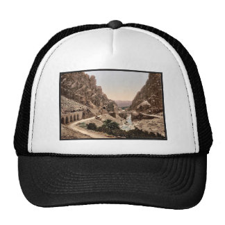 The ravine III El Cantara Algeria classic Photo Hats