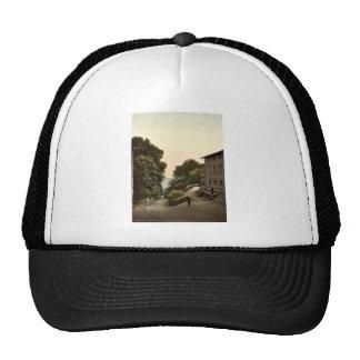 The Ravine Isle of Rugen Germany rare Photochrom Mesh Hat
