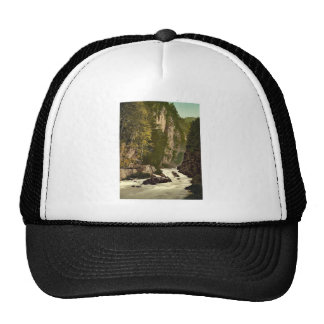 The ravine of the Murg Glarus Switzerland classi Hat