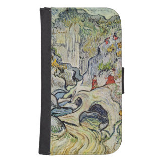 The ravine of the Peyroulets, 1889 Galaxy S4 Wallet