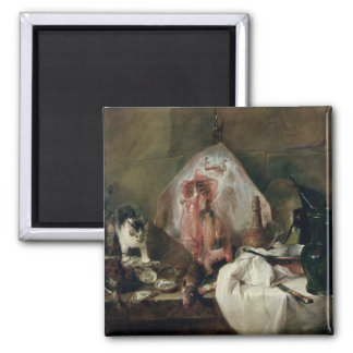 The Ray or, The Kitchen Interior, 1728 2 Inch Square Magnet