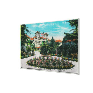 The Raymond Hotel and GroundsPasadena, CA Canvas Print