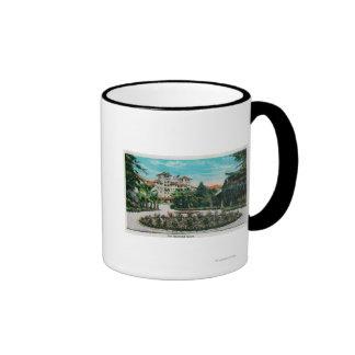 The Raymond Hotel and GroundsPasadena, CA Ringer Mug