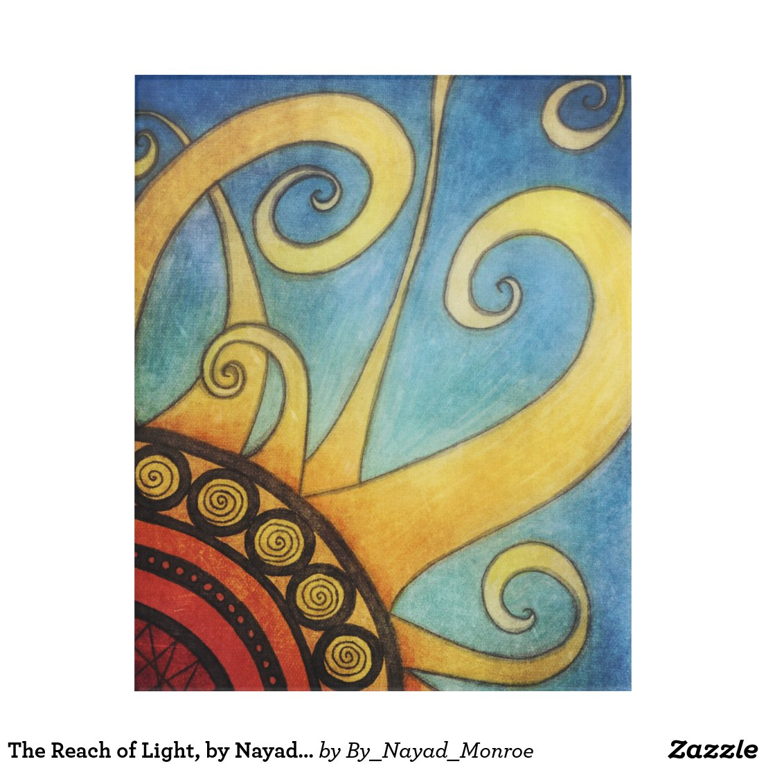 The Reach of Light, by Nayad Monroe Acrylic Print