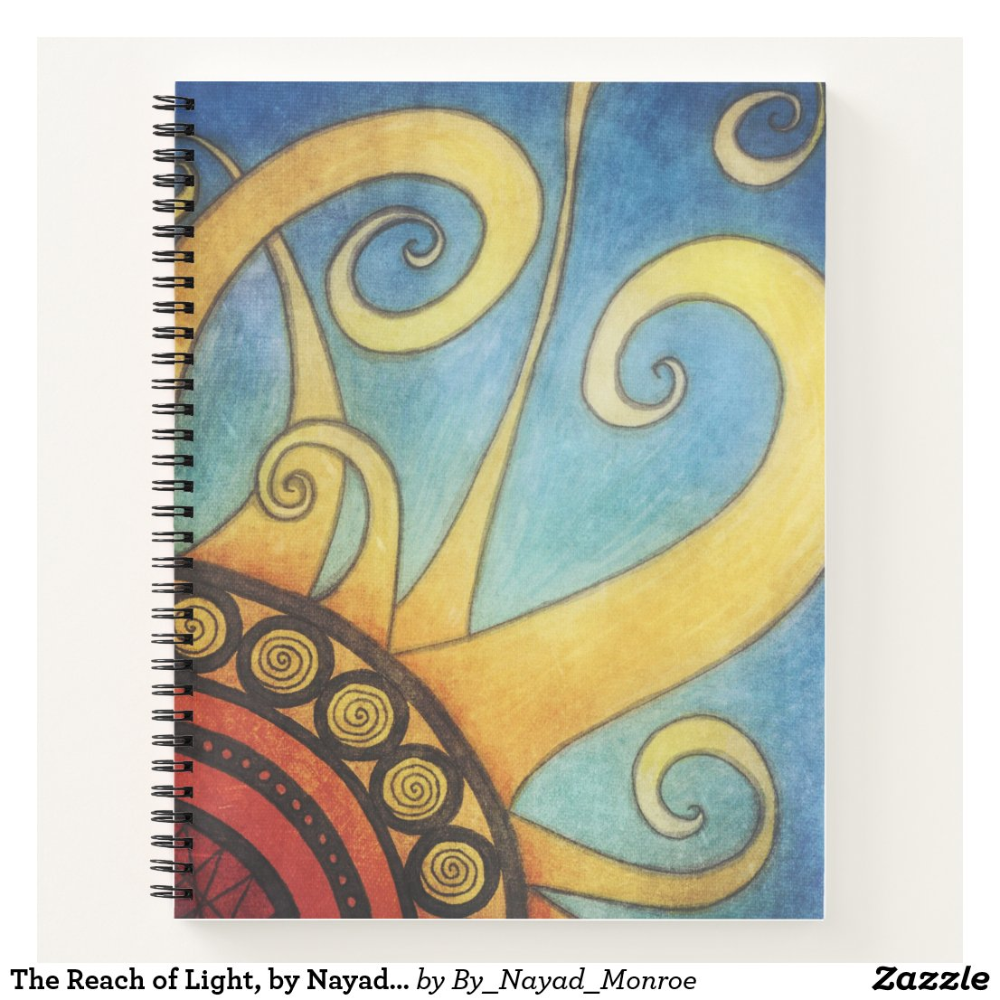 The Reach of Light, by Nayad Monroe Notebook