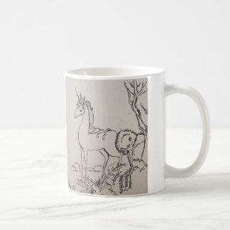 The read unicorn coffee mug