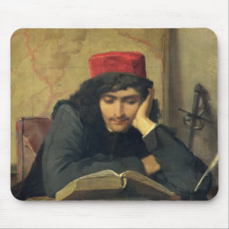 The Reader, 1856 Mouse Pad