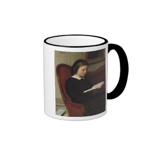 The Reader, 1861 Mugs