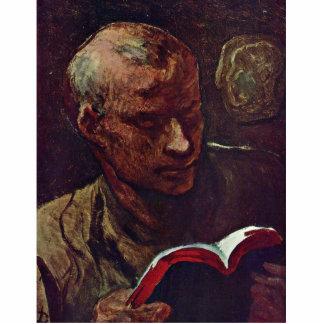 The Reader By Daumier Honoré Photo Sculptures
