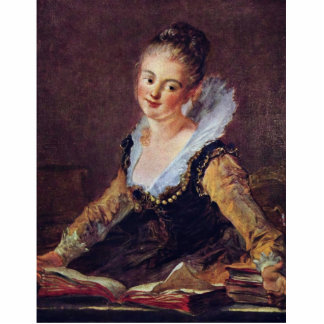 The Reader By Fragonard Jean-Honoré (Best Quality) Acrylic Cut Outs
