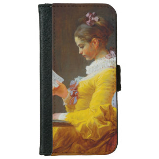 The Reader by Jean-Honore Fragonard iPhone 6 Wallet Case