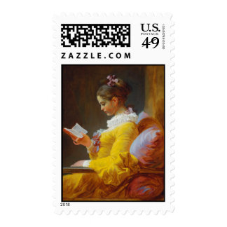 The Reader by Jean-Honore Fragonard Postage
