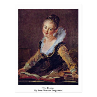 The Reader By Jean-Honore Fragonard Postcard