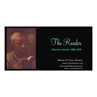 The Reader Custom Photo Card