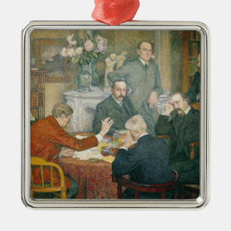 The Reading, 1903 Metal Ornament