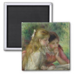 The Reading, c.1890-95 2 Inch Square Magnet