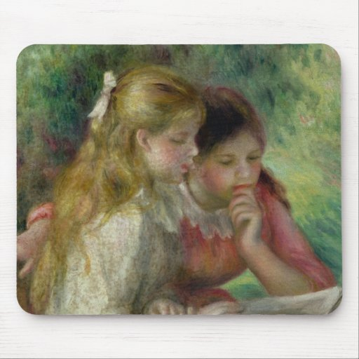 The Reading, c.1890-95 Mousepads