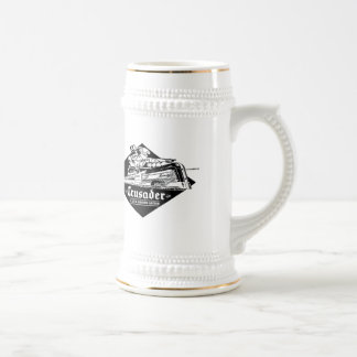 The Reading Railroad Crusader Streamliner Beer Stein