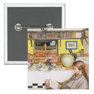 The Reading Room, pub. in 'Lasst Licht Hinin' (`Le 2 Inch Square Button
