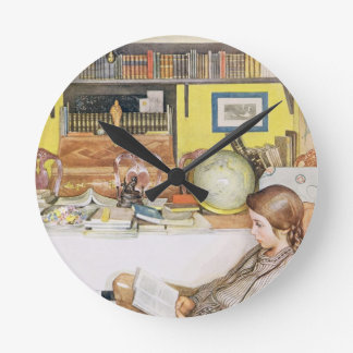 The Reading Room, pub. in 'Lasst Licht Hinin' (`Le Round Wall Clock