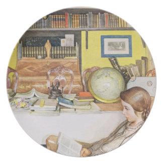 The Reading Room, pub. in 'Lasst Licht Hinin' (`Le Dinner Plate