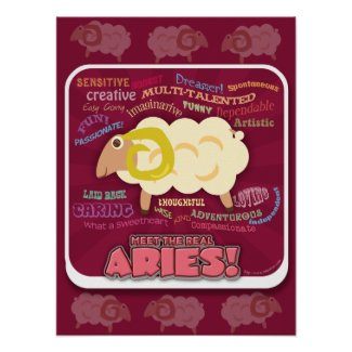 The Real Aries Print