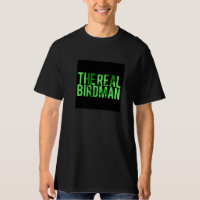The Real Birdman Black Tee