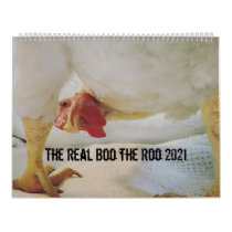 The Real Boo the Roo 2021 large calendar