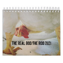 The Real Boo the Roo 2021 small calendar
