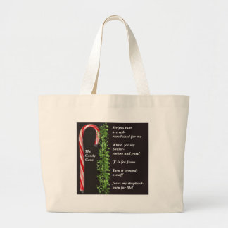 THe Real Candy Cane Meaning Tote Bags
