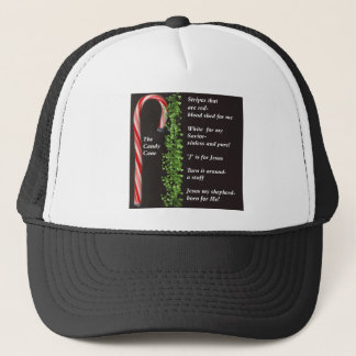 THe Real Candy Cane Meaning Trucker Hat