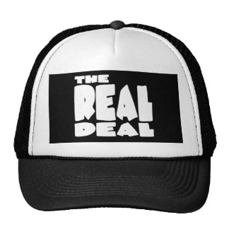 The Real Deal Trucker Hats