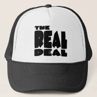 The Real Deal Trucker Hat