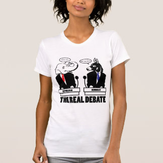 The Real Debate T-Shirt - Customized