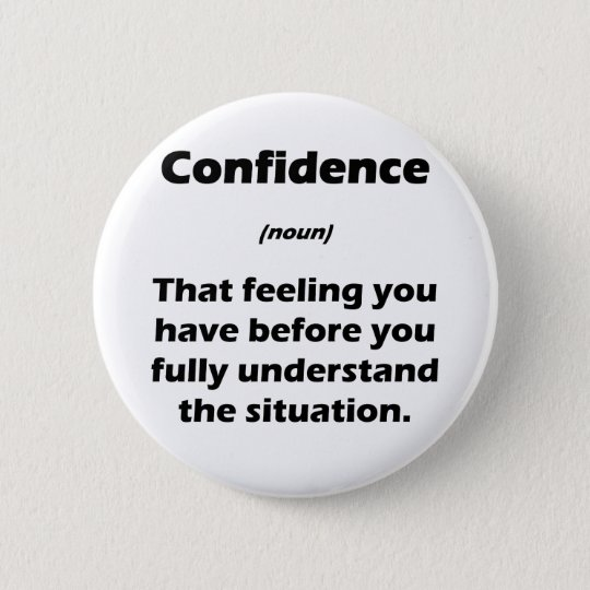 The Real Definition of Confidence Pinback Button