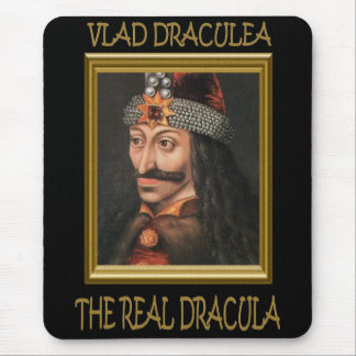 The Real Dracula Mouse Pad