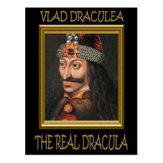 The Real Dracula Postcard