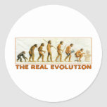The Real Evolution Sticker