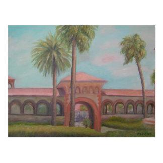 THE REAL FLORIDA-FLAGLER COLLEGE -Postcard Postcard