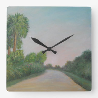 The Real Florida- Old A1A Wall Clock