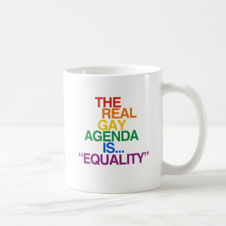 THE REAL GAY AGENDA MUGS