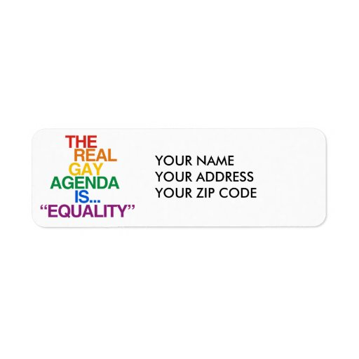 Free gay address labels