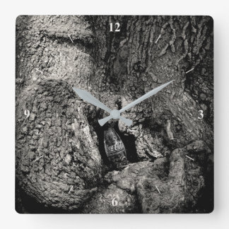 The Real...hidden Square Wall Clock