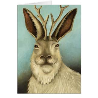 The Real Jackalope Greeting Cards